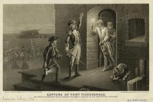 Capture of Fort Ticonderoga