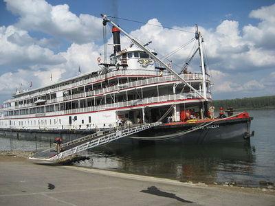 Haunted Ships The Delta Queen