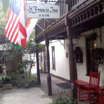 The St. Francis Inn in St. Augustine, Florida