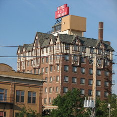 The haunted history of the Alex Johnson Hotel