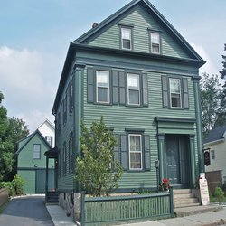 The haunted Lizzie Borden Bed and Breakfast