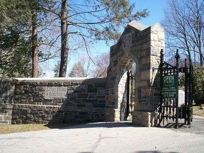 Sleepy Hollow Cemetery Entrance