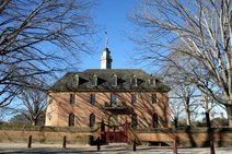 Capitol Building Colonial Williamsburg